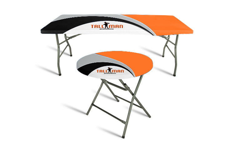 Stretch Table Top Covers