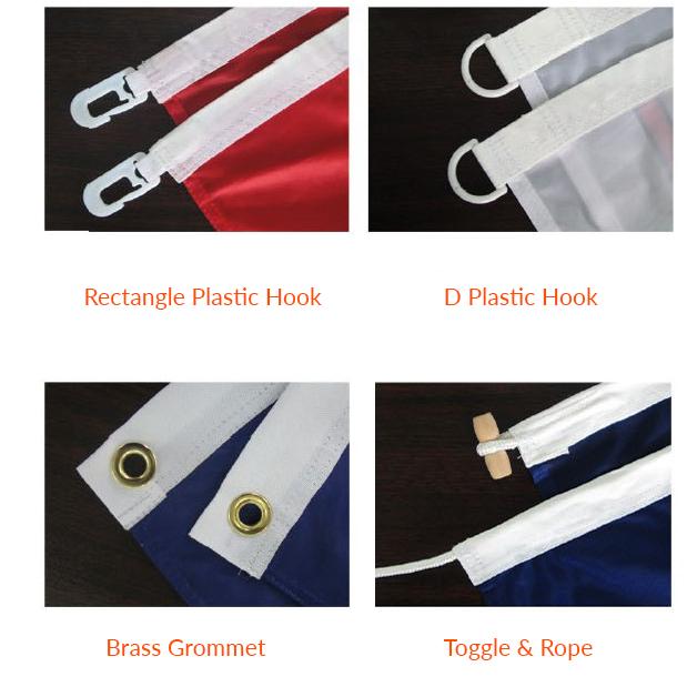 Custom Flag fixtures