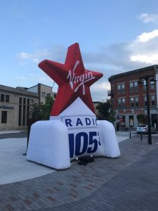 Inflatable signage