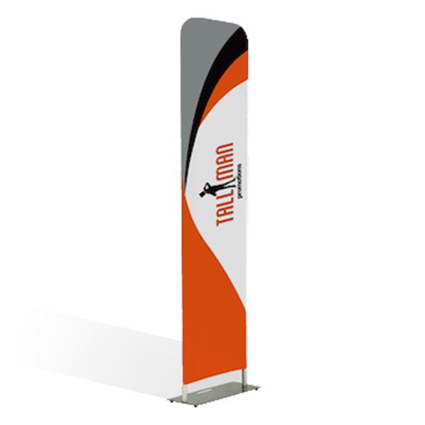 Straight Fabric Display Stands