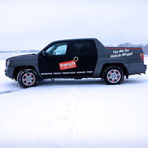 Truck Decal, vehicle wrap