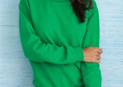 Womens custom crew neck sweater